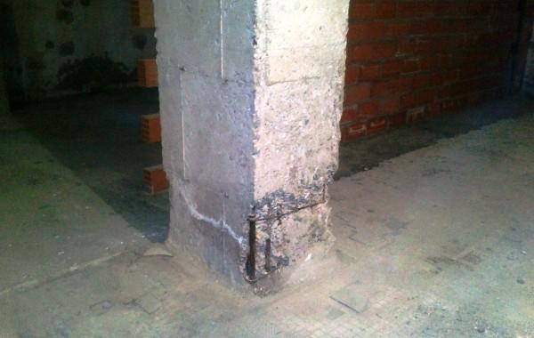 Reparaciones estructurales en parking
